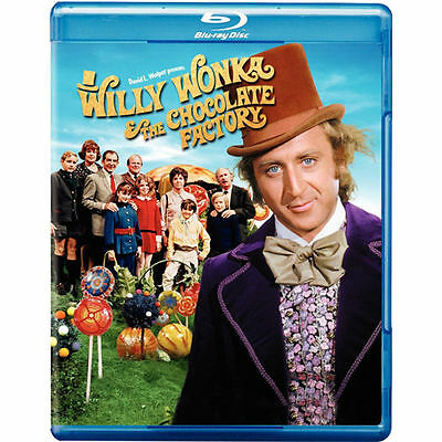 Willy Wonka and the Chocolate Factory Blu Ray 2010 1971 Gene Wilder NEW
