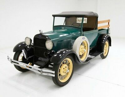 1928 Ford A Roadster Pickup Excellent Restoration Mechanically Sound Engine Pristine Undercarriage