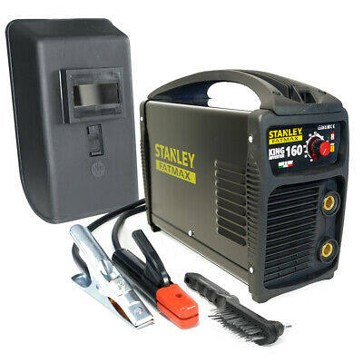 Poste à souder inverter STANLEY FATMAX KING 160 PRO 100% Duty cycle MMA TIG LIFT