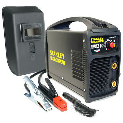 Poste à souder inverter STANLEY FATMAX KING 210 PRO 100% Duty cycle MMA TIG LIFT