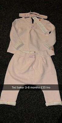 3-6 month girls ted baker outfit