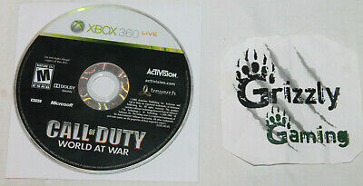 USED Call of Duty World At War Microsoft XBOX 360 (Disc Only)