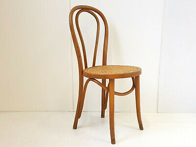 Chair Bar Thonet Or Baumann Vintage 1940 1950 Wooden Curved 40S 50S
