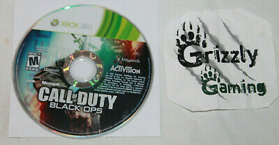 USED Call of Duty Black Ops Microsoft XBOX 360 (Disc Only)