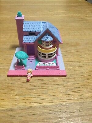 Vintage Polly Pocket Bay Window House 1993 Lights Are Fully Working