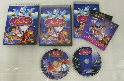 Aladdin Platinum Edition DVD 2-Disc Special Edition Walt Disney