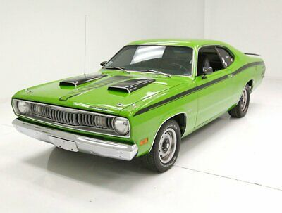 1971 Plymouth Duster  Replacement 340ci V8 Sassy Grass Green Fun-Fun-Fun