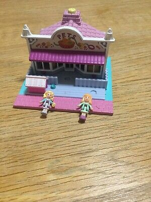 Vintage Polly Pocket 1993 Pet Shop Comes With 2 Figures