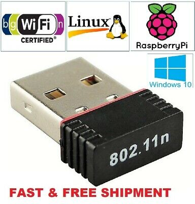 Mini USB WiFi WLAN RealTek 150Mbps Wireless Network Adapter Windows 802.11n//g//b