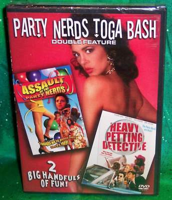 New Rare Oop Toga Bash Assault Of Party Nerds 1 & 2 Heavy Petting Detective Dvd