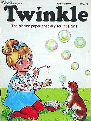TWINKLE #60 - 15th MARCH 1969 - VERY RARE EARLY ISSUE !! FINE..bunty mandy beano