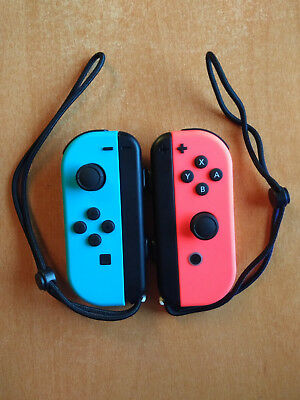 Nintendo Switch JoyCon Controllers Blue L and Red R - Brand New Condition.