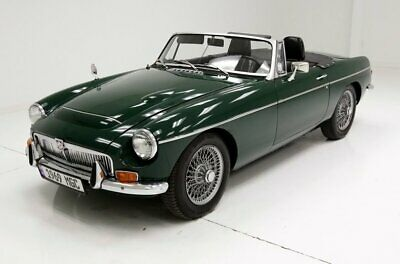 1969 MG MGC  2.9 Liter 4-Speed Wonderful Leather BRG Paint
