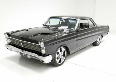 1965 Mercury Comet  Flawless Black Paint Laser Straight Panels 650hp 572ci Crate Motor