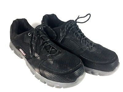 26b91a18c00 Mens 12 Dickies Spectre Black Work Shoes Steel Toe Oil Resistant Safety