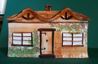 Cottage Ware  Pottery Butter Dish with Lid