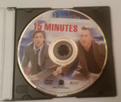 15 Minutes Infinifilm Edition DVD, 2001 Disc Only