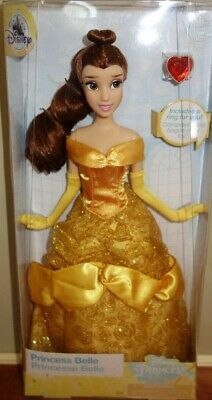 7d15c689c5 DISNEY STORE PRINCESS Belle classic doll with ring 11 1/2