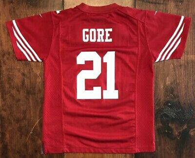 541806a8d Frank Gore San Francisco 49ers Nike On-Field Youth Jersey Size Medium Red  NFL