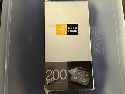 Case Logic 200 Disc Capacity CD ProSleeve® Pages Electronic Case NEW