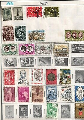 Belgium  Lot Of Old  Stamps   #30C