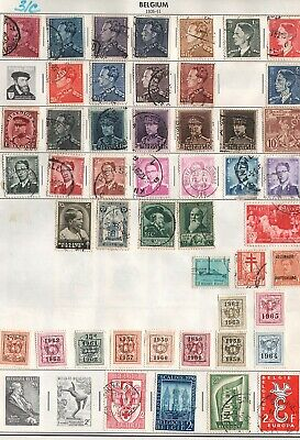 Belgium  Lot Of Old  Stamps   #31C