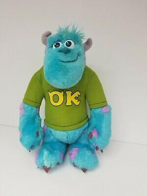 "Disney Monsters Inc. University 12"" Sully Talking My Scare Pal Plush Toy doll"