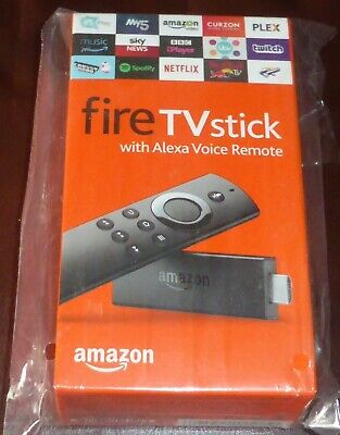 Amazon Fire TV Stick (2nd Generation) Media Streamer with Alexa Voice Remote