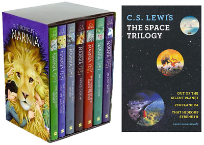 CS Lewis Audiobook DVD Collection! Narnia, Space Trilogy & MORE! - 18 Audiobooks