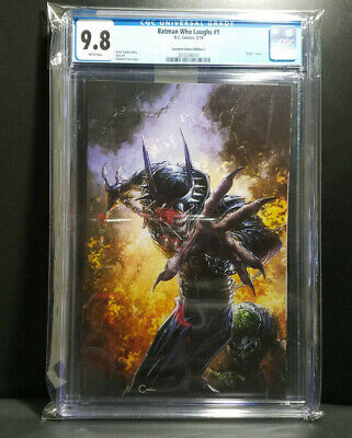 BATMAN WHO LAUGHS #1 Crain VARIANT Cvr C CGC 9.8