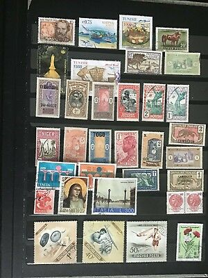 Nice Selection of Old and New Worldwide Used stamps Lot No7643