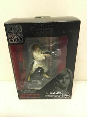 Hasbro Star Wars 40th Titanium Series LUKE SKYWALKER #03 Action Figure NIB