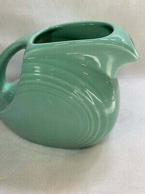Fiesta Seamist Juice Pitcher Homer Laughlin First Quality~Retired