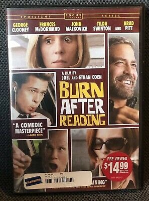 Burn After Reading DVD - LIKE NEW!