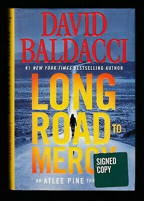 Long Road to Mercy by David Baldacci (2018, Hardcover), Signed 1st