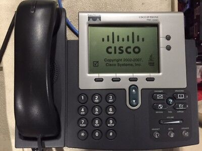 LOT OF 10 Cisco 7941 CP-7941G IP Phone with Stand and Handset QTY