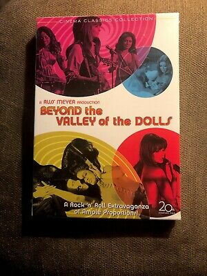 """""""BEYOND THE VALLEY OF THE DOLLS (1970) Russ Meyer Cult Classic DVD Brand New!"""