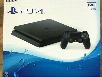 Sony PlayStation 4 PS4 500GB Jet Black CUH-2100AB01 Japan Console