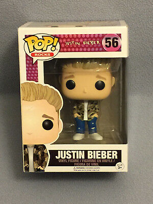 JUSTIN BIEBER - Funko Pop! Rocks Vinyl Figure - Mint in Package