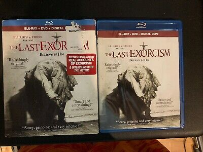 The Last Exorcism Blu-ray Disc 2011 2-Disc Set HD Movie Free Shipping +Slipcover