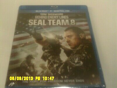 """behind Enemy Lines: Seal Team 8"" (Blu-Ray + Digital Hd) - New Sealed"