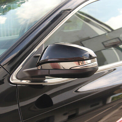 For Toyota Highlander 2014-2018 Chrome Side Rearview Mirror Moulding Cover Trim
