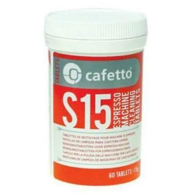 CAFETTO S15 Espresso Coffee Machine Cleaning Tablets Cleaner Automatic 60 tablet