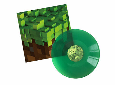C 418 - Minecraft Volume Alpha Vinyl LP Green, non-Lenticular, new & sealed