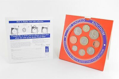 1997 United Kingdom 9 Piece Brilliant Uncirculated Coin Collection *996