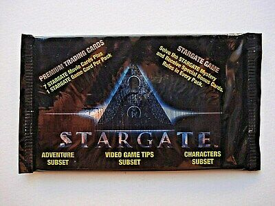1994 Collect-A-Card *stargate The Movie* Sealed Foil Pack