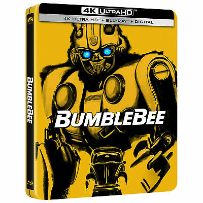 Bumblebee Steelbook 4K Ultra HD Blu-ray Pre-Order Best Buy Exclusive!