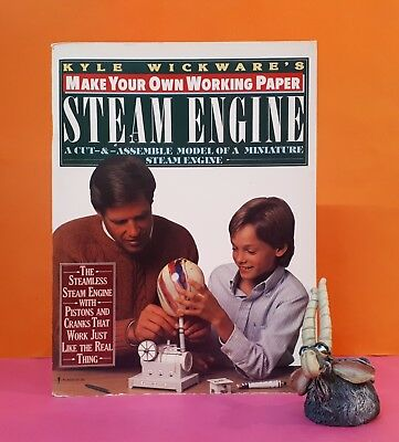 K Wickware: Make Your Own Working Paper Steam Engine/models/hobbies/locomotives