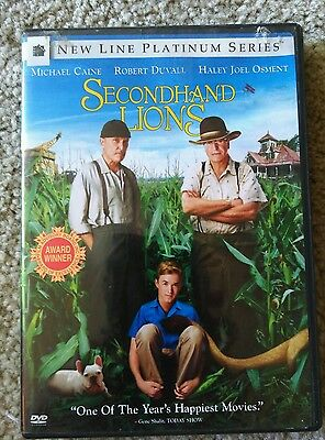 Secondhand Lions DVD and Special Features !!!