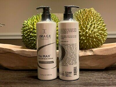(1) I IMAGE The MAX Stem Cell Facial CLEANSER Professional 12oz +🎁  Exp. 10/19